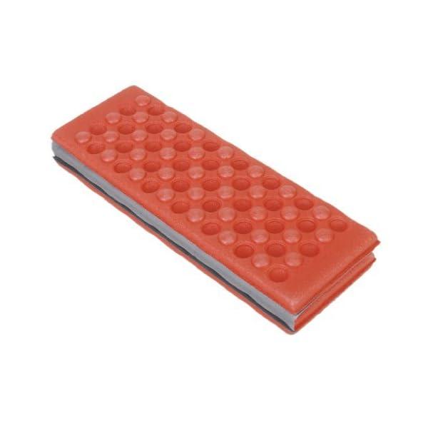 YEAH67886Outdoor portabilità schiuma pieghevole cuscino per sedia da campeggio esterno cuscino (rosso) 5 spesavip