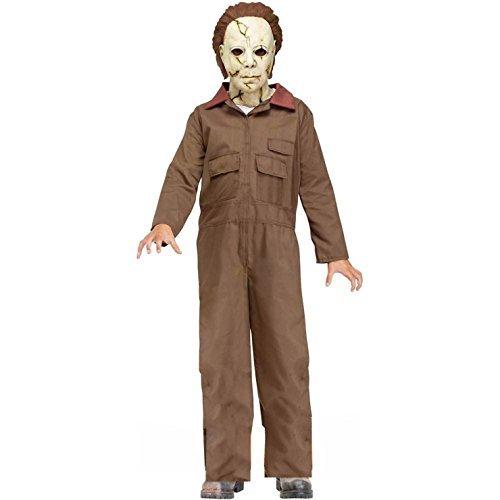 Michael Myers Costume For Kids (Fun World Licensed Michael Myers Costume, Large 12 - 14,)