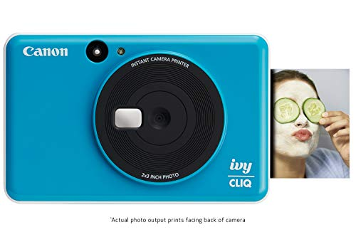 Canon IVY CLIQ Instant Camera Printer, Mini Photo Printer with 2