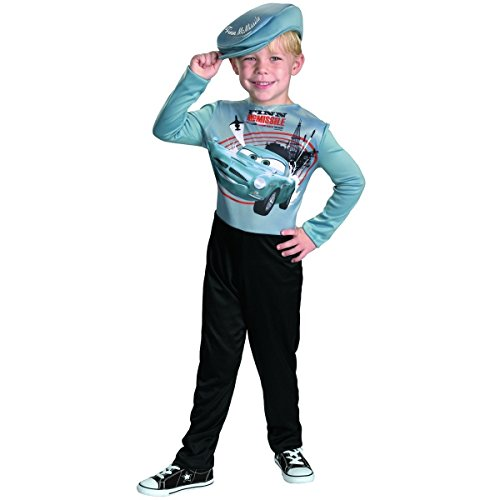 Disney Pixar Cars 2 Finn McMissile Basic Halloween Costume - Child Size (Disney Pixar Cars Halloween Costumes)