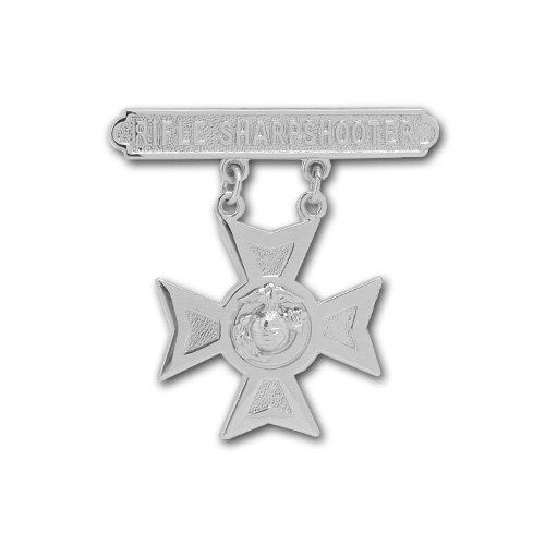 Vanguard MARINE CORPS QUALIFICATION BADGE: RIFLE SHARPSHOOTER by Vanguard