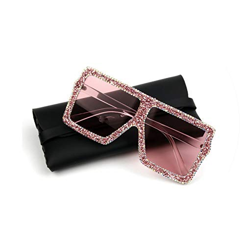 Oversized Sunglasses Women Luxury Yellow Pink small for sale  Delivered anywhere in Canada