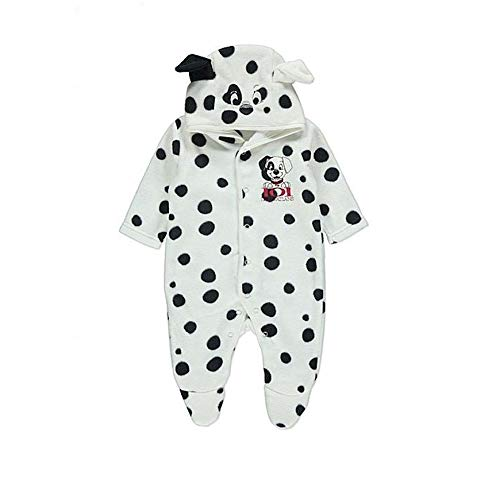 George Official 9-12 Months Disney Baby Dalmatian fancy dress Plush All In One Costume