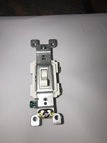 Leviton 15 Amp Preferred Switch, White from Leviton