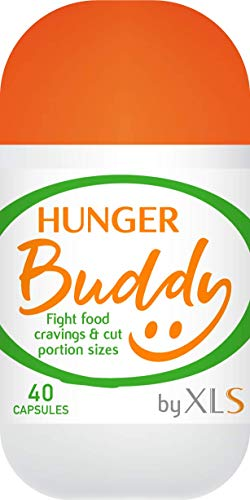 Hunger Buddy by XLS -Effective Appetite Control – Handy on the Go dispenser – 40 Capsules