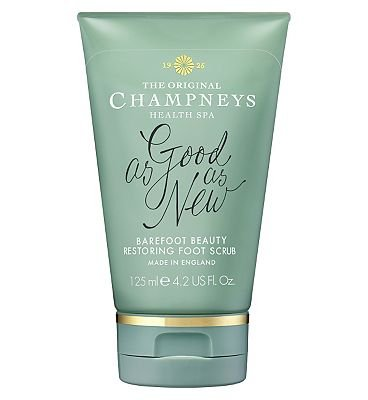 Champneys Barefoot Beauty Restoring Foot Scrub 125ml