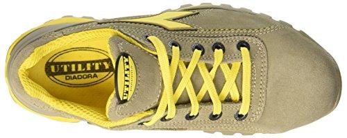 Diadora Glove Ii Low S1p Hro, Zapatos de Trabajo Unisex Adulto Gris (Grigio Roccia Lunare)