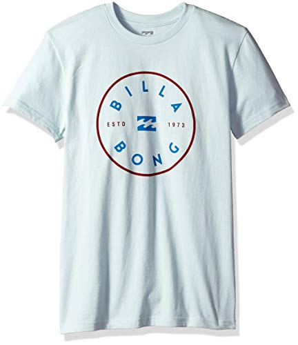 (Billabong Boys' Rotor T-Shirt Coastal Blue)