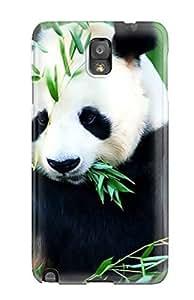 Premium [rkRKEBm4204xxVme]panda Bears Case For Galaxy Note 3- Eco-friendly Packaging
