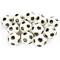 Charmed Stress Balls Squeeze Foam for Anxiety Relief, Relaxation, Party Favor Toy, Gifts (12 Pack) (soccer)