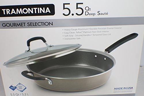 Tramontina Deep Saute Cookware Dishwasher