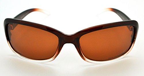 microfibre Lens Mode pour de Brown Hot tendance Frame Clear classique étui Lunettes gratuit polarisées W femme haute qualité Brown Vox soleil q60RxXW