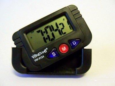 Amazon.es: RELOJ DIGITAL PARA MOTO BICI COCHE PANTALLA LCD -- VASUMA VM-613A --CRONOMETRO CALENDARIO ALARMA DESPERTADOR -- AUTOMOVILE CAR BIKE CLOCK- ...