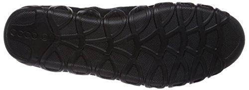 Ecco Dayla Damen Sneakers Schwarz (Black/Black Suede/Feather51707)