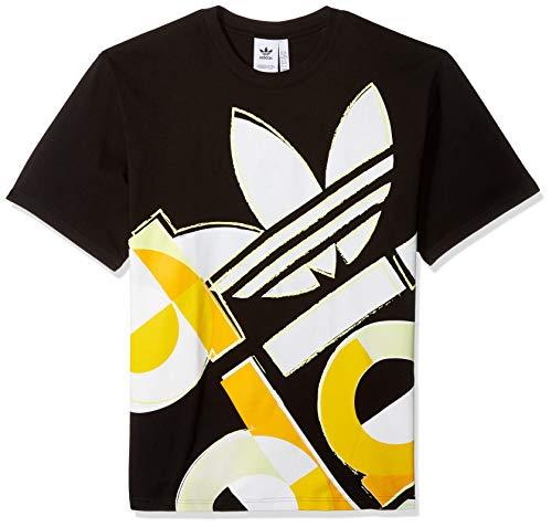 (adidas Originals Men's Bold Graphic Tee, Black, Medium)