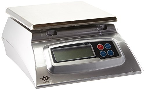 My Weigh 7000-Gram Kitchen Food Scale,Silver ()