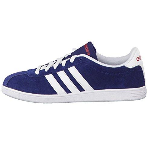 adidas NEO Vlcourt Herren Sneakers Blue - collegiate navy/ftwr white/power red
