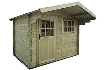 Fonteyn Jardín Caseta/Bloque tejado de Dos Vertientes 300 x 300 cm Alta presión de