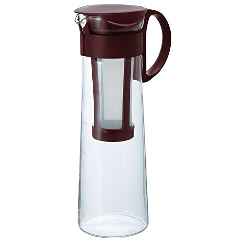 "Hario""Mizudashi"" Cold Brew Coffee Pot, 1000ml, Brown"