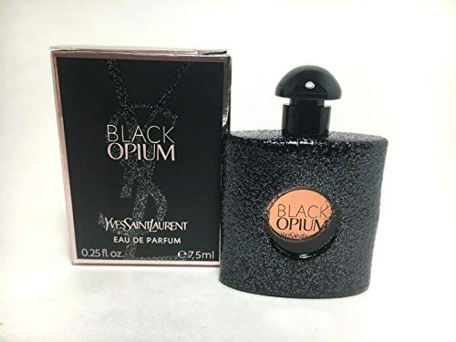Yves Saint Laurent Black Opium Eau De Parfum 0.25oz Mini Dab-On Splash Bottle ()