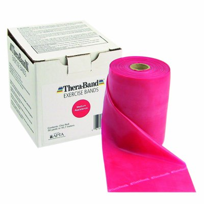Exercise Band Size/Color: Medium/Red by TheraBand