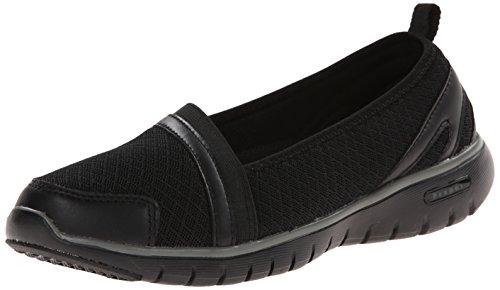 Propét Women's Travellite SN Walking Shoe, Black, 11 N US
