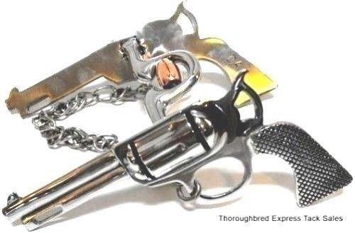 Stainless Steel Pistol Shank Show Bit w/ 5