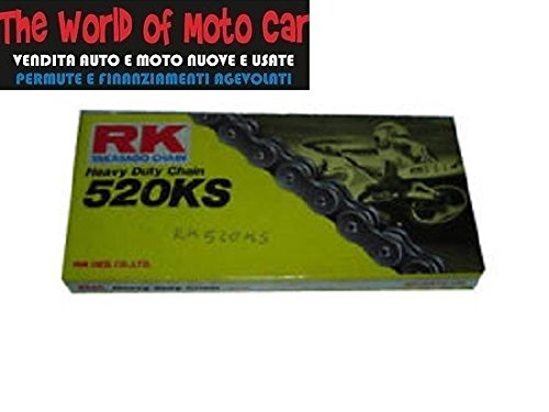 CATENA TRASMISSIONE RK 520 KS 120 MAGLIE RINFORZATA Motocar