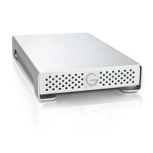 G-Technology G-DRIVE mini 500GB 7200RPM Portable External Hard Drive, USB 2.0, Firewire 400, Firewire 800 Interfaces 0G01650