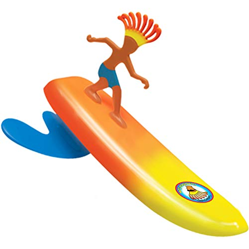 - Surfer Dudes Wave Powered Mini-Surfer and Surfboard Toy - Sumatra Sam (2019/2020 Edition)