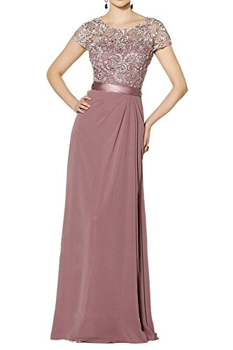 Vestido rosa Topkleider trapecio oscuro para mujer 6WFnda4q