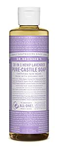 Dr. Bronner's Pure-Castile Liquid Soap (8 oz, Lavender)