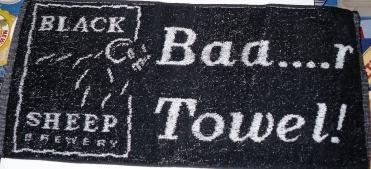 Black Sheep Brewery Bar Towel (pp)
