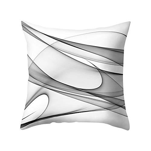 (FAgdsyigao Tulle Voile Shade Throw Pillow Case, Square Cushion Cover for Car Sofa Bed Home Decor, 45cm x 45cm Pillowcase 9#)