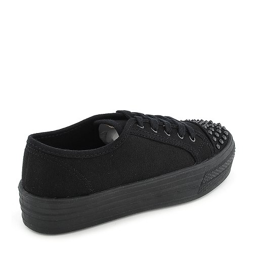 Soda Womens Bookie Casual Sneaker Nero
