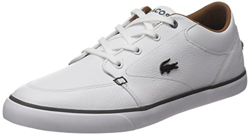 317 Basses Lacoste Wht Baskets 1 Homme Bayliss Vulc Blanc aqawUgHF