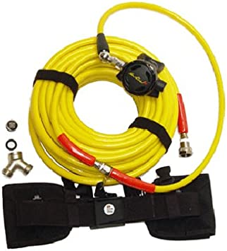 100ft Divers Air Breathing Diving Hookah Hose Yellow For Air Compressor