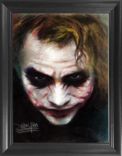 Joker Heath Ledger Framed 3D Lenticular Picture - 14.5x18.5