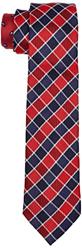 615 Tommy Neck Hilfiger Men's Tie Tailored Red SwzZqSY