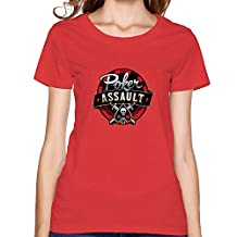 Entertainment play games T-shirts L Red for Men cotton