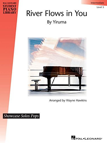 Hal Leonard River Flows in You Piano Library Series Performed by Yiruma (Level - Sheet Music Piano Yiruma