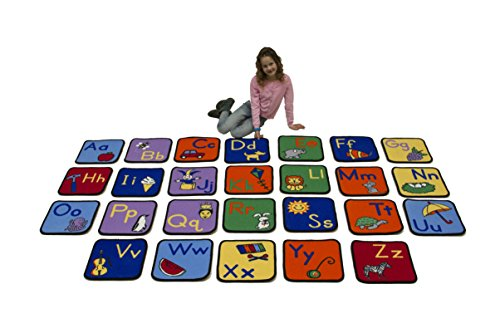 Learning Carpets Alphabet Seating Squares by Learning Carpets