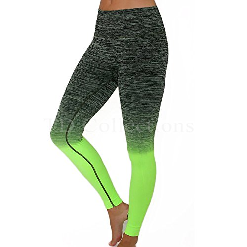 a3657925a139b TD Collections Yoga Leggings Absolute Workout Color Block Leggings -  Fitness Leggings - Moisture Wicking -