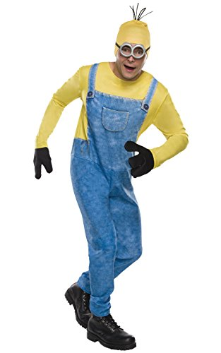 Rubie's Costume Co Men's Minion Kevin Costume, Multi, Standard (Minions Movie: Minion Kevin Adult Costume)