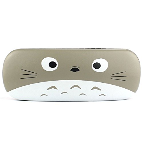 NiceShop16 Cartoon Animal Face Print Glasses Case Hard Storage Protection Box Gray (Style - Kids Glasses Case