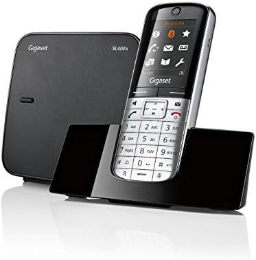 Gigaset SL400A - Teléfono fijo (DTMF, 500 entradas, 45 min, TFT ...