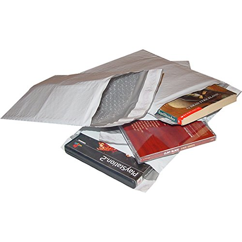 """#1 7.5x12"""" POLY BUBBLE MAILER PADDED ENVELOPES-200ct"""