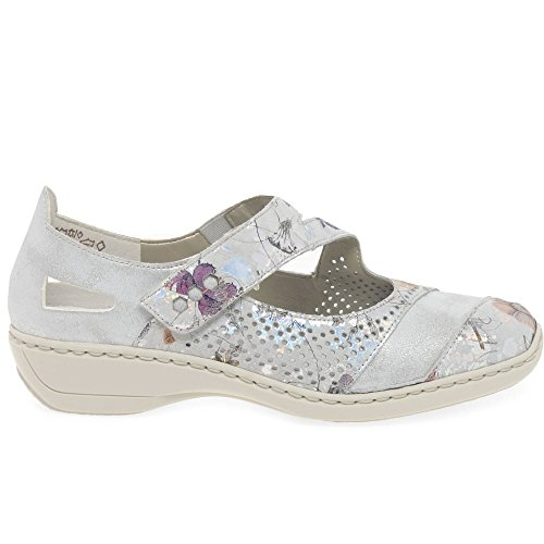 Shoes Roya Womens White Jane Rieker Mary 0SIYT44q