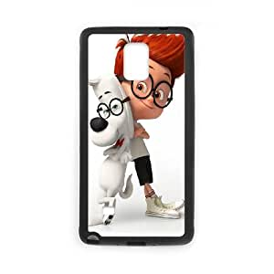 Samsung Galaxy Note 4 Cell Phone Case Black Mr. Peabody And Sherman Poster Z7X4IY