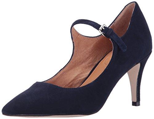Opportunity Shoes - Corso Como Women's Coy Pump, Navy Kid Suede, 10 Medium US